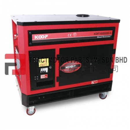 KOOP Low Noise Diesel Generator KDF16000Q3 Malaysia, KOOP Low Noise Diesel Generator KDF16000Q3 Supplier in Malaysia, Source KOOP Low Noise Diesel Generator KDF16000Q3 in Malaysia.