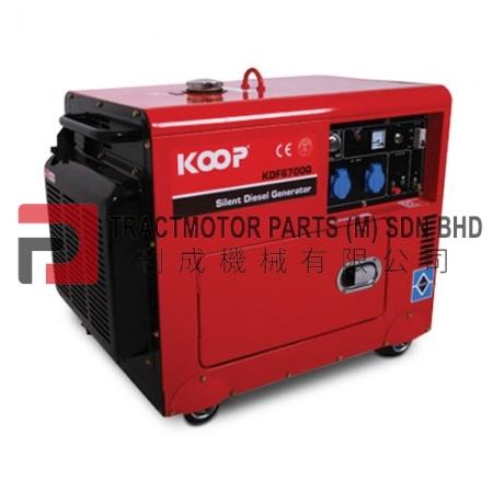 KOOP Low Noise Diesel Generator KDF6700Q Malaysia, KOOP Low Noise Diesel Generator KDF6700Q Supplier in Malaysia, Source KOOP Low Noise Diesel Generator KDF6700Q in Malaysia.