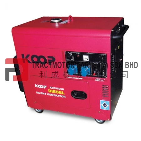KOOP Low Noise Diesel Generator KDF8500Q Malaysia, KOOP Low Noise Diesel Generator KDF8500Q Supplier in Malaysia, Source KOOP Low Noise Diesel Generator KDF8500Q in Malaysia.