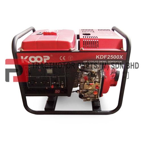 KOOP Open Frame Diesel Generator KDF2500X Malaysia, KOOP Open Frame Diesel Generator KDF2500X Supplier in Malaysia, Source KOOP Open Frame Diesel Generator KDF2500X in Malaysia.