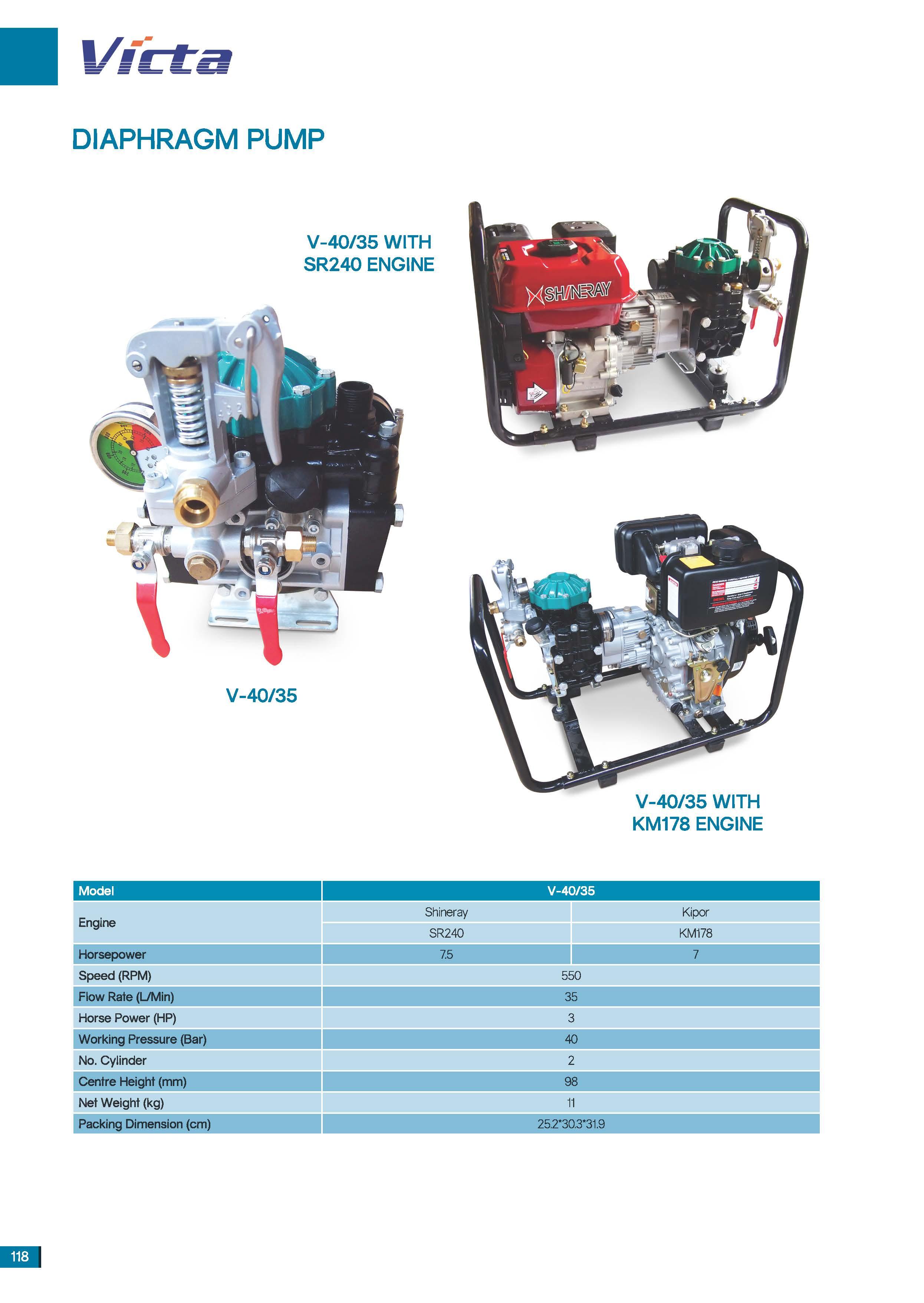Malaysia victa diaphragm pump v 4035 with sr240 engine victa description ccuart Images