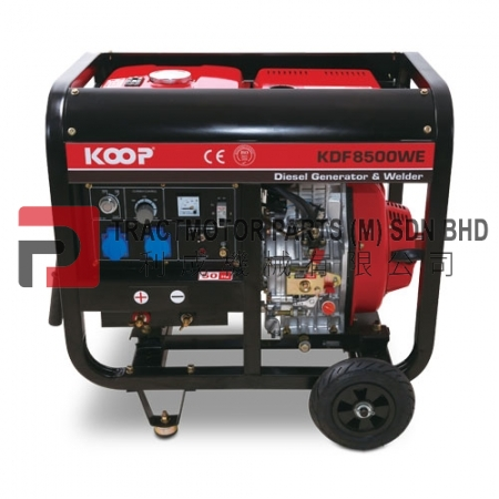 KOOP Diesel Welding Generator KDF8500WE Malaysia, KOOP Diesel Welding Generator KDF8500WE Supplier in Malaysia, Source KOOP Diesel Welding Generator KDF8500WE price in Malaysia.